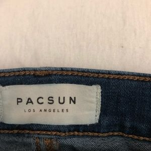 PacSun Jeans - PACSUN Super High Rise Jegging Dark Wash